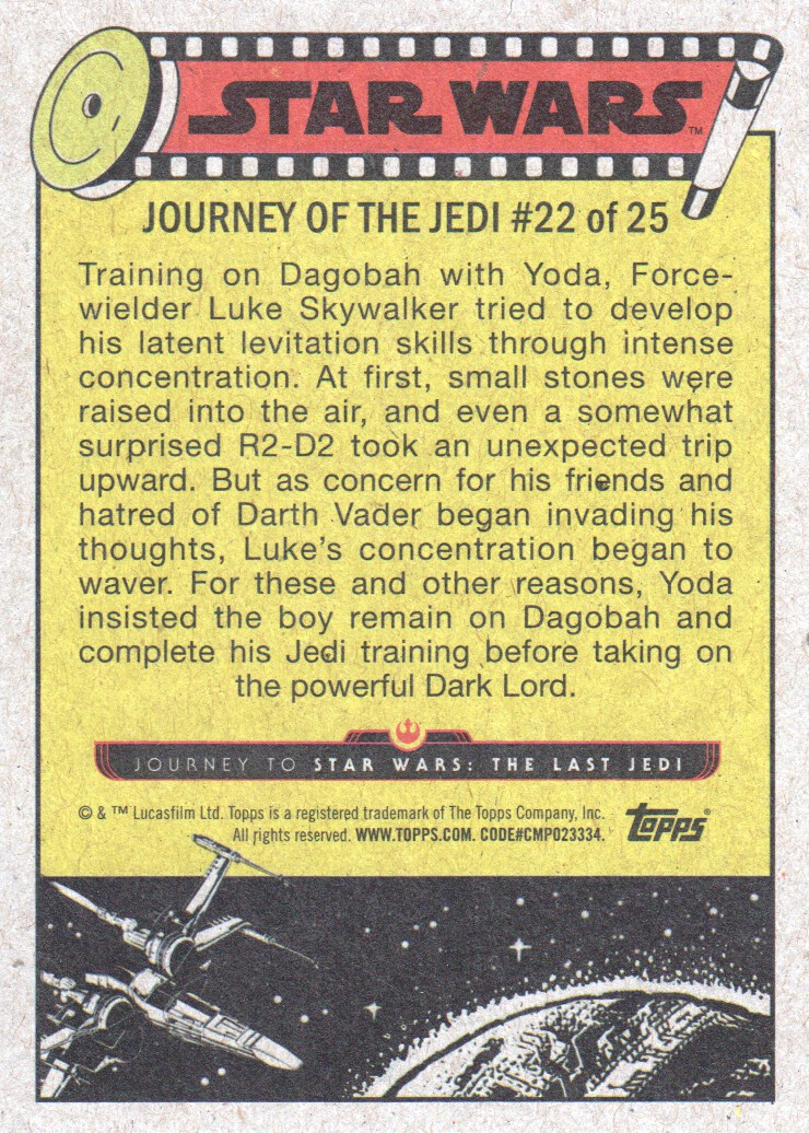 2017-Topps-Star-Wars-Journey-to-The-Last-Jedi-Trading-Cards-Pick-From-List miniature 453