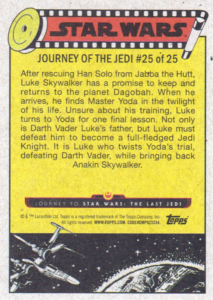 2017-Topps-Star-Wars-Journey-to-The-Last-Jedi-Trading-Cards-Pick-From-List miniature 455