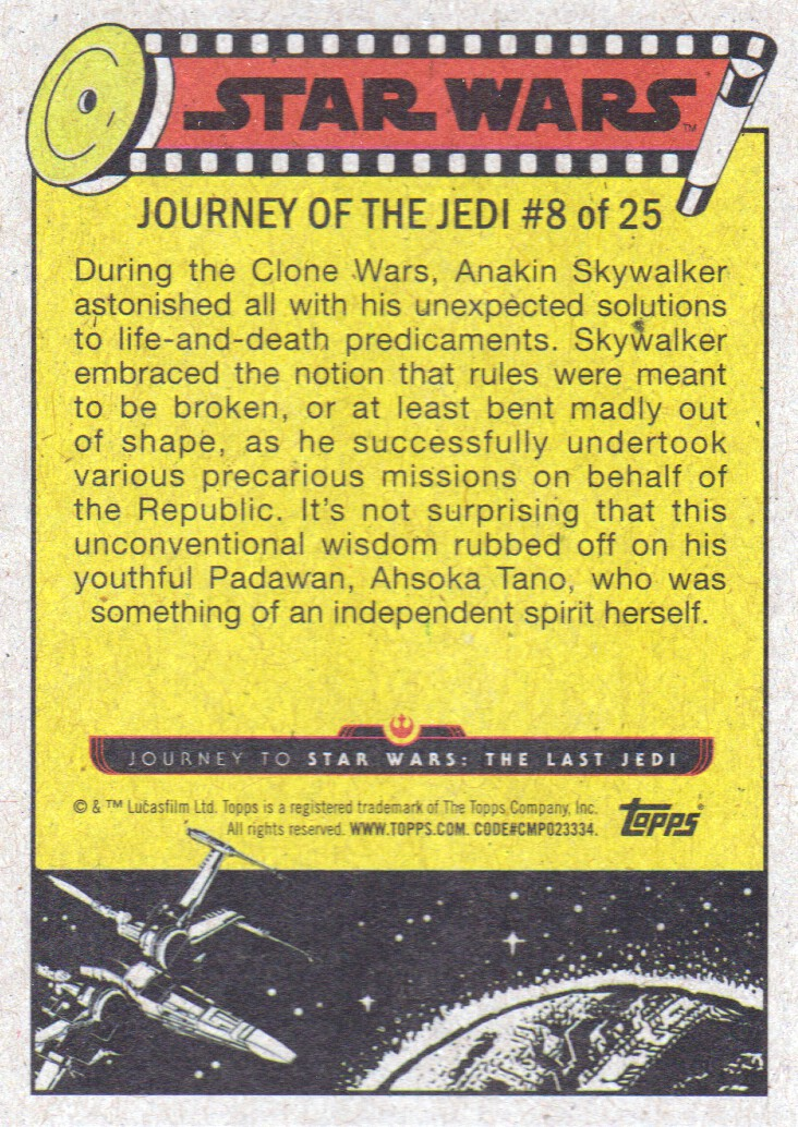 2017-Topps-Star-Wars-Journey-to-The-Last-Jedi-Trading-Cards-Pick-From-List miniature 457