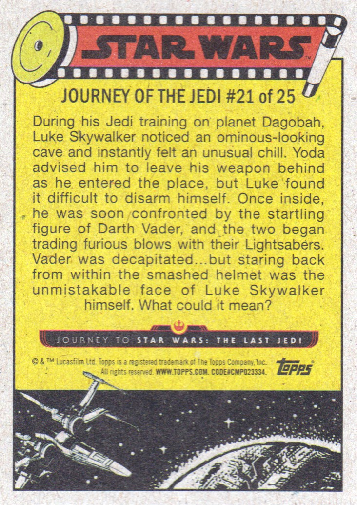 2017-Topps-Star-Wars-Journey-to-The-Last-Jedi-Trading-Cards-Pick-From-List miniature 459