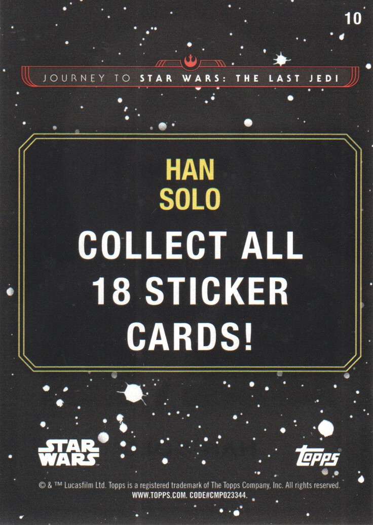2017-Topps-Star-Wars-Journey-to-The-Last-Jedi-Trading-Cards-Pick-From-List miniature 295