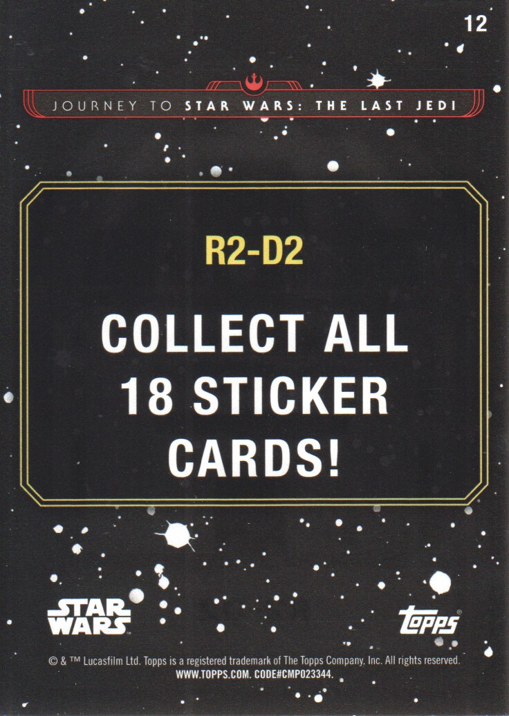 2017-Topps-Star-Wars-Journey-to-The-Last-Jedi-Trading-Cards-Pick-From-List miniature 297