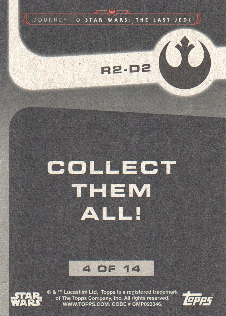 2017-Topps-Star-Wars-Journey-to-The-Last-Jedi-Trading-Cards-Pick-From-List miniature 409