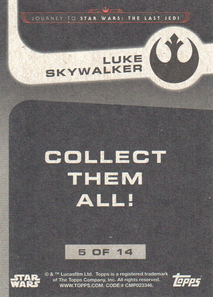 2017-Topps-Star-Wars-Journey-to-The-Last-Jedi-Trading-Cards-Pick-From-List miniature 411