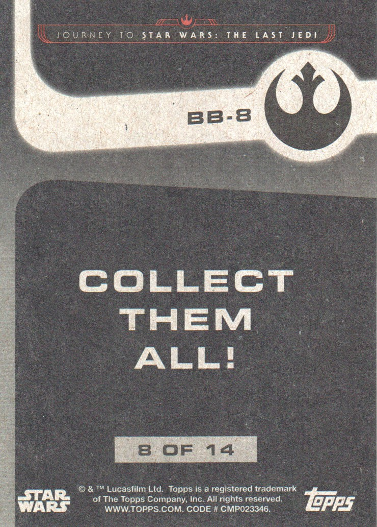 2017-Topps-Star-Wars-Journey-to-The-Last-Jedi-Trading-Cards-Pick-From-List miniature 415