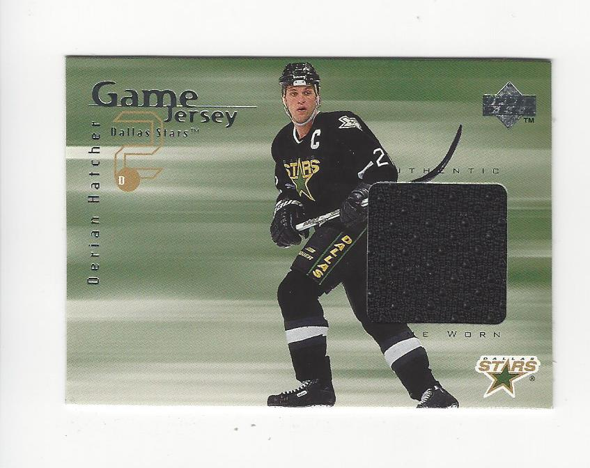 1998-99 Upper Deck Game Jerseys #GJ10 Derian Hatcher