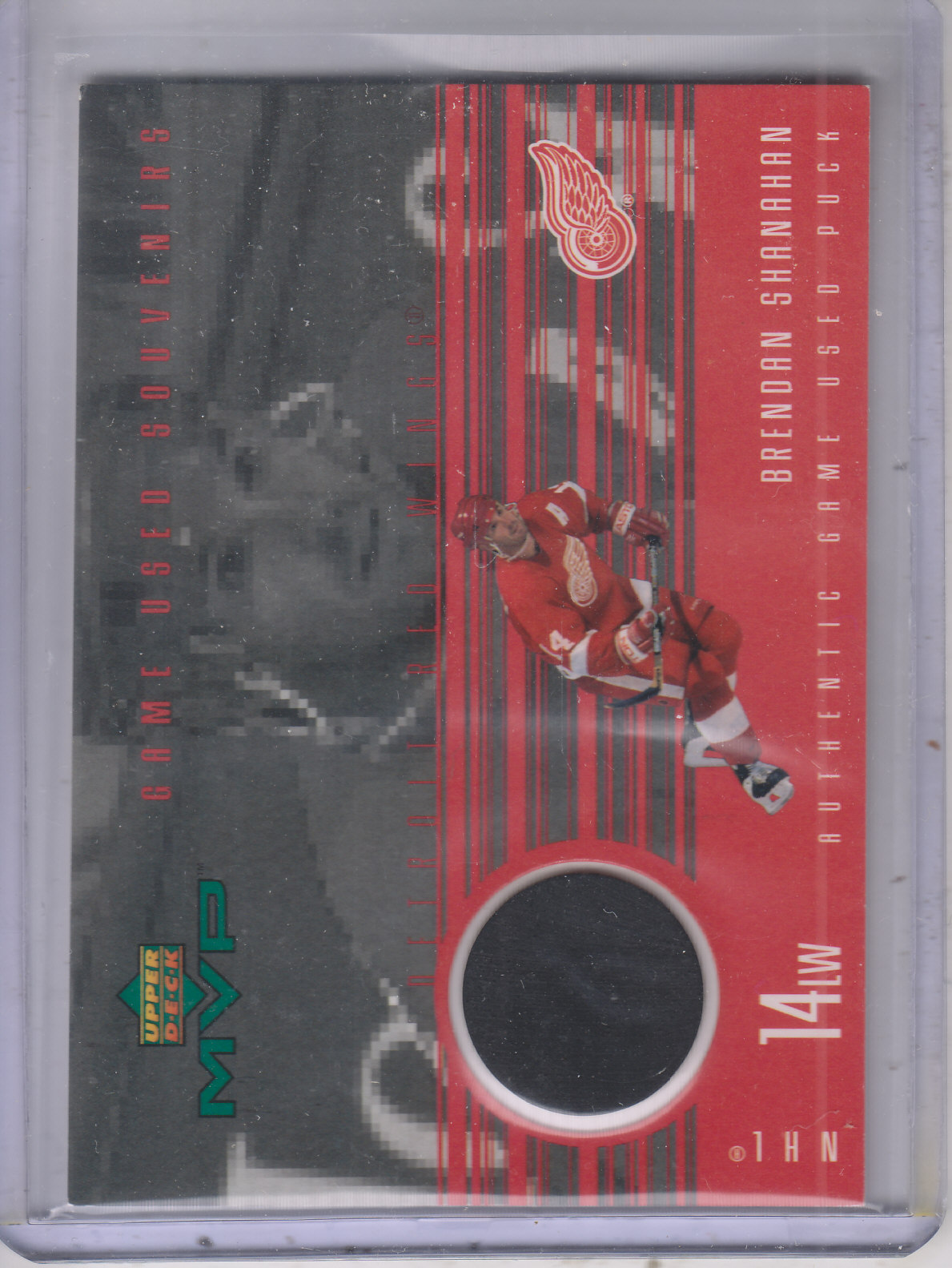 1998-99 Upper Deck MVP Game Souvenirs #BS Brendan Shanahan