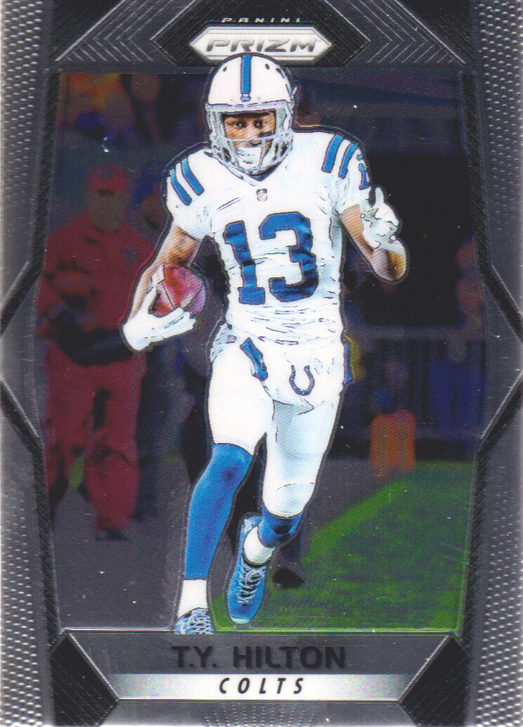 79eff97e Details about 2017 Panini Prizm Football #169 T.Y. Hilton Indianapolis Colts