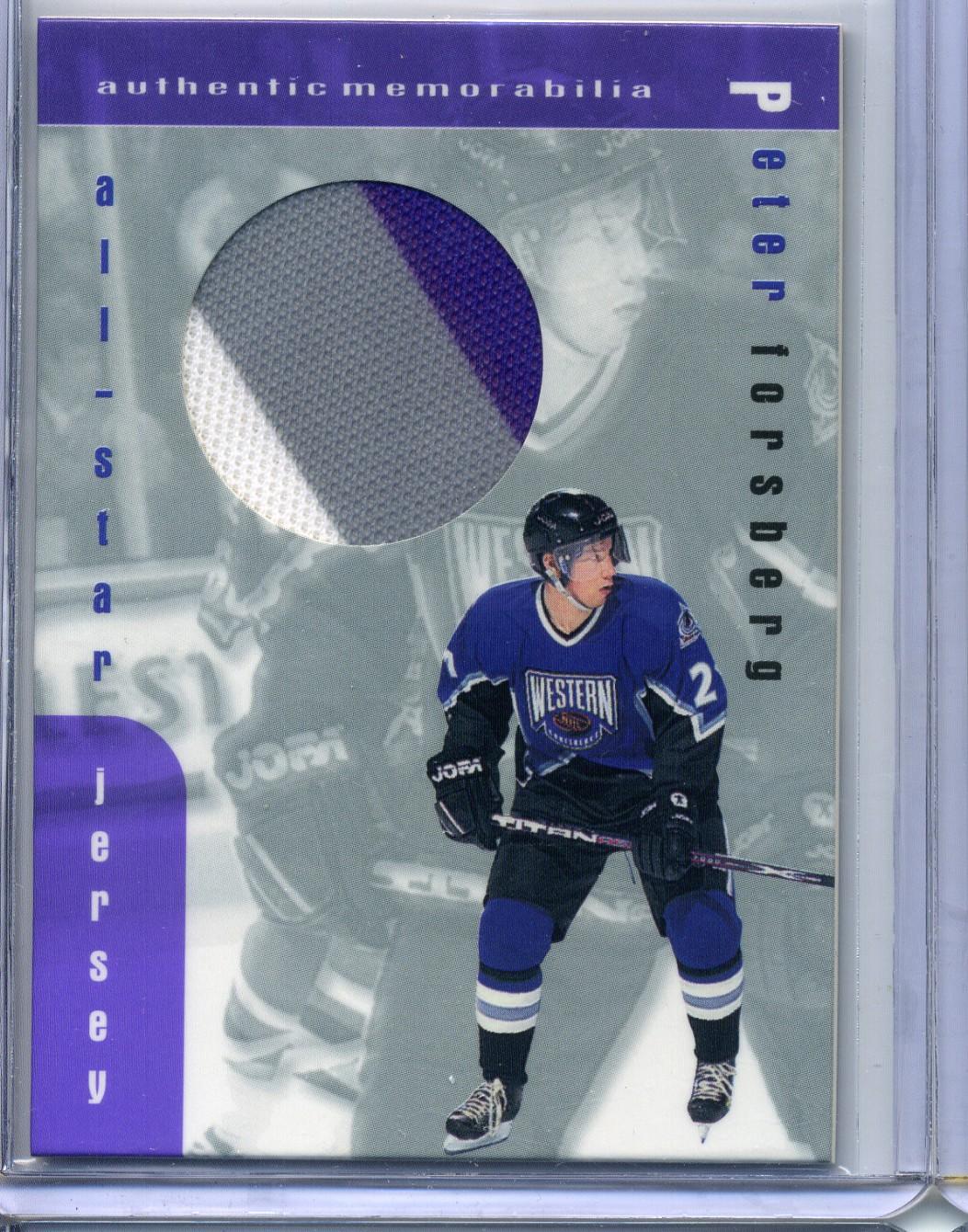 1999-00 BAP Memorabilia Jersey #J2 Peter Forsberg