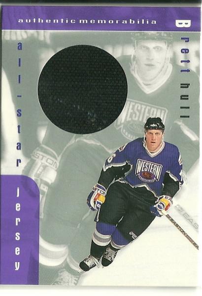 1999-00 BAP Memorabilia Jersey #J12 Brett Hull
