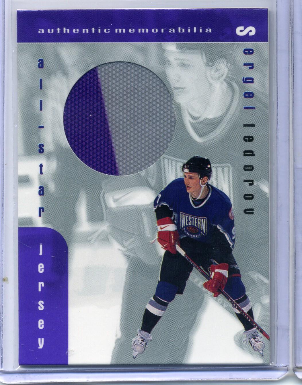 1999-00 BAP Memorabilia Jersey #J15 Sergei Fedorov