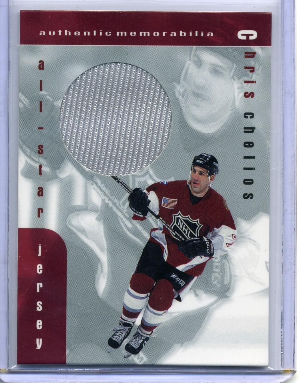 1999-00 BAP Memorabilia Jersey #J21 Chris Chelios