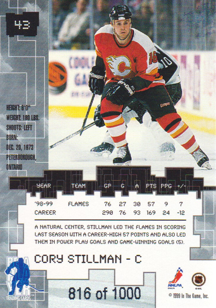 1999-00-BAP-Millennium-Ruby-Parallel-Hockey-Cards-Pick-From-List miniature 11