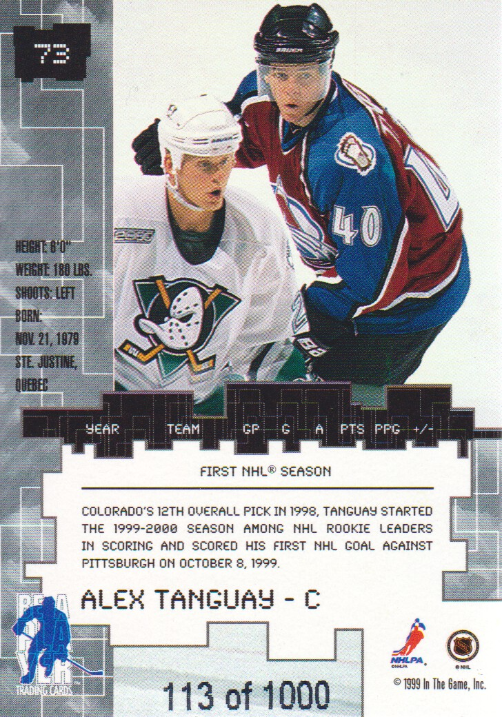 1999-00-BAP-Millennium-Ruby-Parallel-Hockey-Cards-Pick-From-List miniature 13