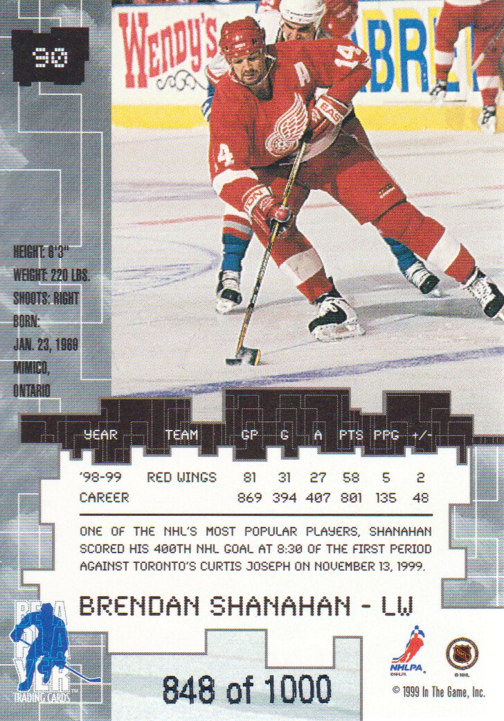 1999-00-BAP-Millennium-Ruby-Parallel-Hockey-Cards-Pick-From-List miniature 15