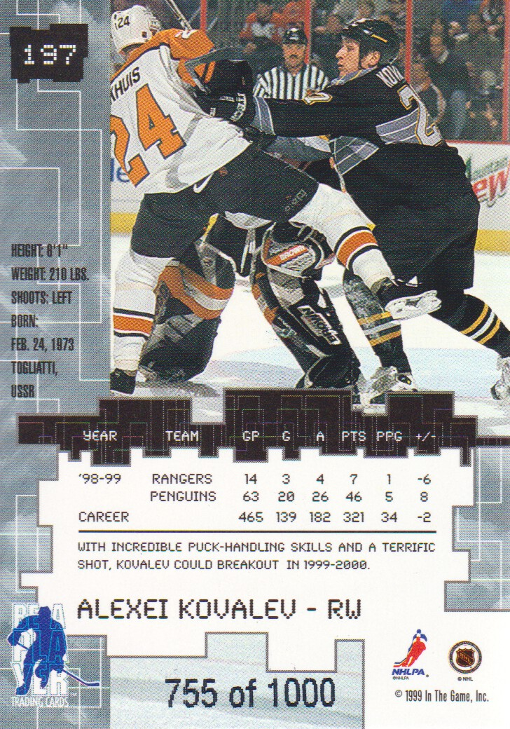 1999-00-BAP-Millennium-Ruby-Parallel-Hockey-Cards-Pick-From-List miniature 23