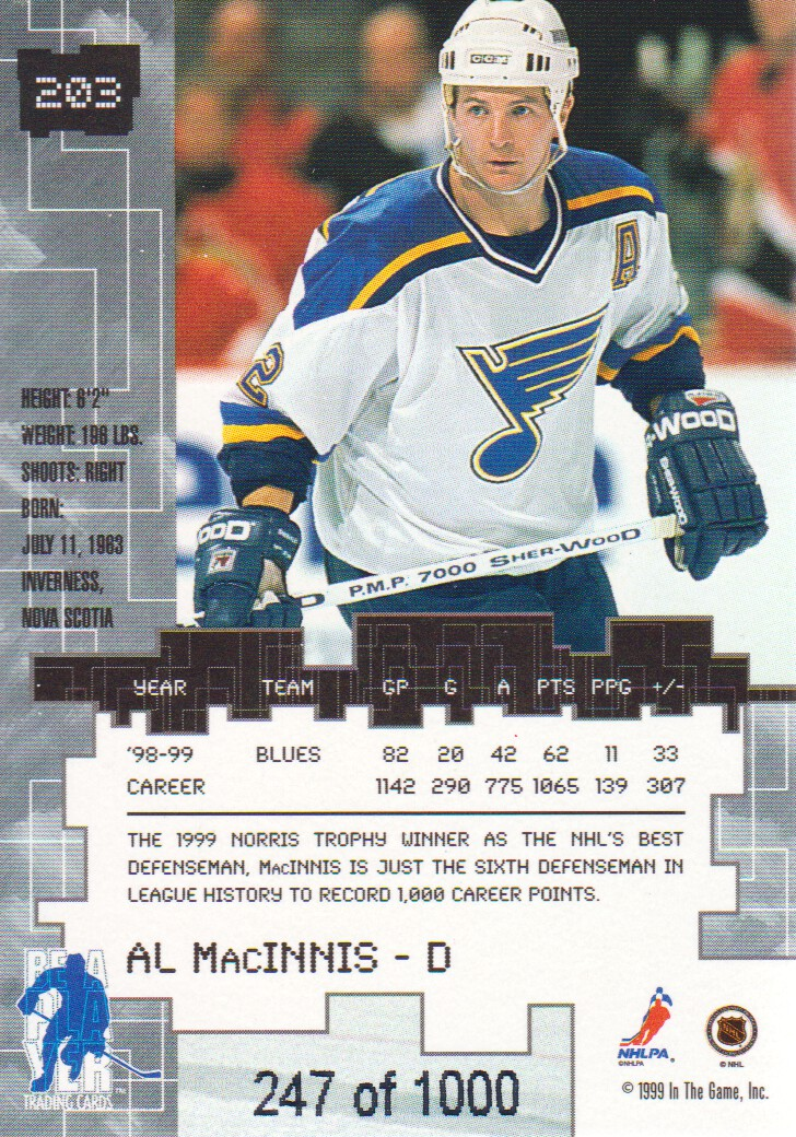 1999-00-BAP-Millennium-Ruby-Parallel-Hockey-Cards-Pick-From-List miniature 25