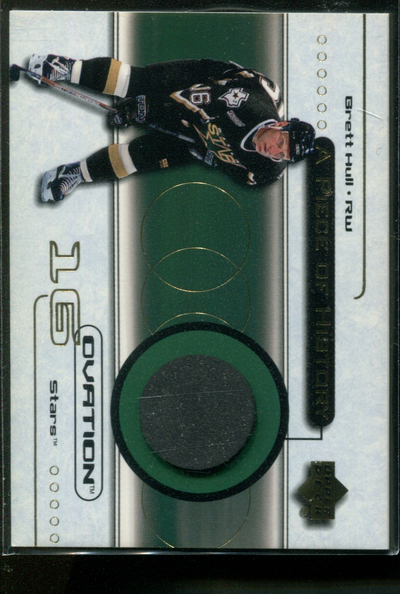 1999-00 Black Diamond A Piece of History #BH Brett Hull