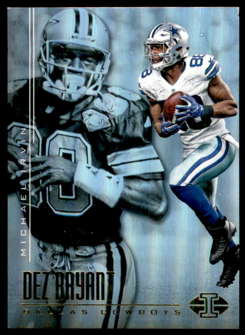Details About 2017 Panini Illusions Football Card 4 Dez Bryant Michael Irvin
