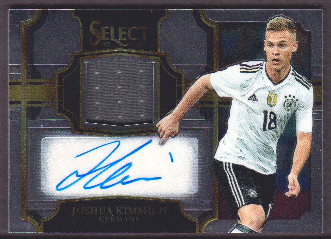buy popular 741c6 b21eb Details about 2017-18 Select Jersey Autograph #JA-JKI Joshua Kimmich Auto  132/299 Germany