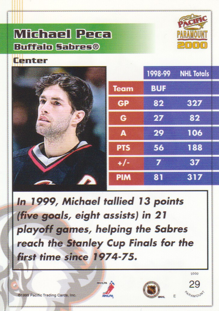 1999-00-Paramount-Red-Parallel-Hockey-Cards-Pick-From-List thumbnail 21