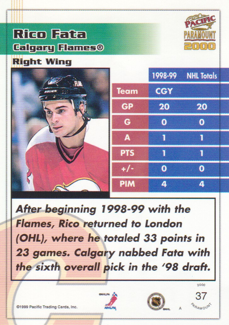 1999-00-Paramount-Red-Parallel-Hockey-Cards-Pick-From-List thumbnail 31
