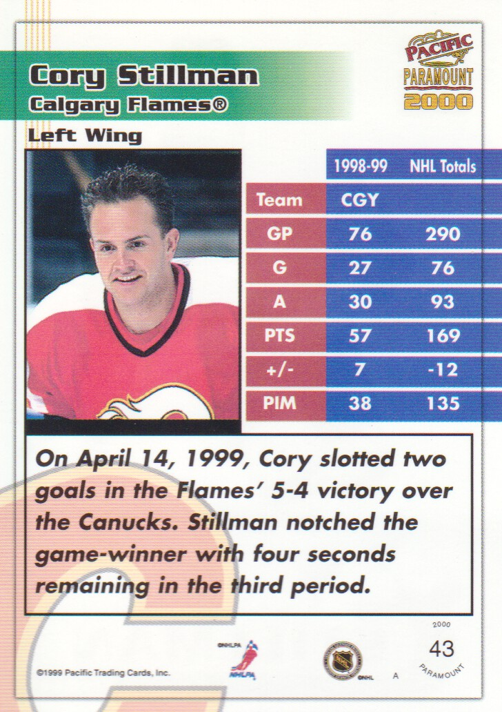 1999-00-Paramount-Red-Parallel-Hockey-Cards-Pick-From-List thumbnail 33