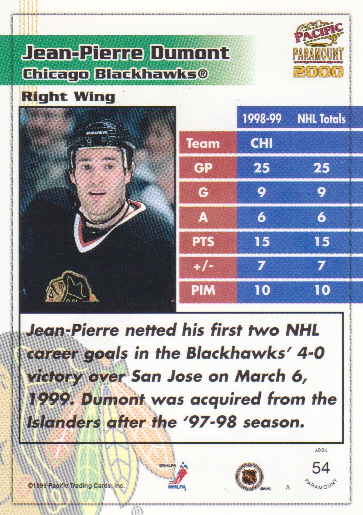 1999-00-Paramount-Red-Parallel-Hockey-Cards-Pick-From-List thumbnail 39