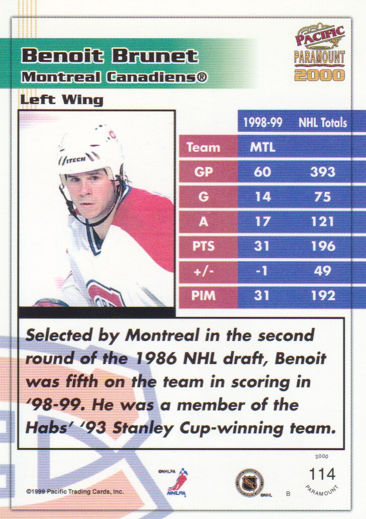 1999-00-Paramount-Red-Parallel-Hockey-Cards-Pick-From-List thumbnail 75