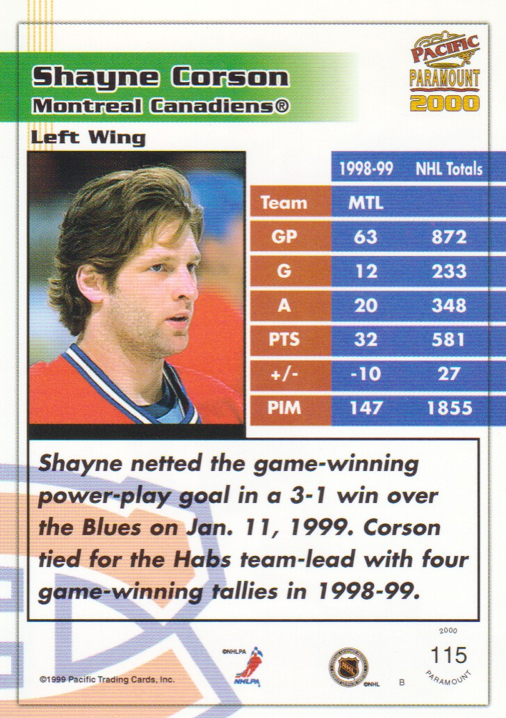 1999-00-Paramount-Red-Parallel-Hockey-Cards-Pick-From-List thumbnail 77
