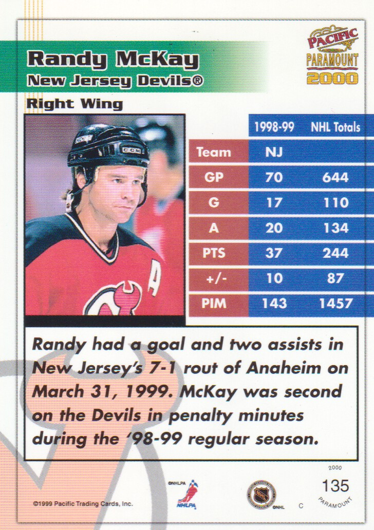 1999-00-Paramount-Red-Parallel-Hockey-Cards-Pick-From-List thumbnail 85