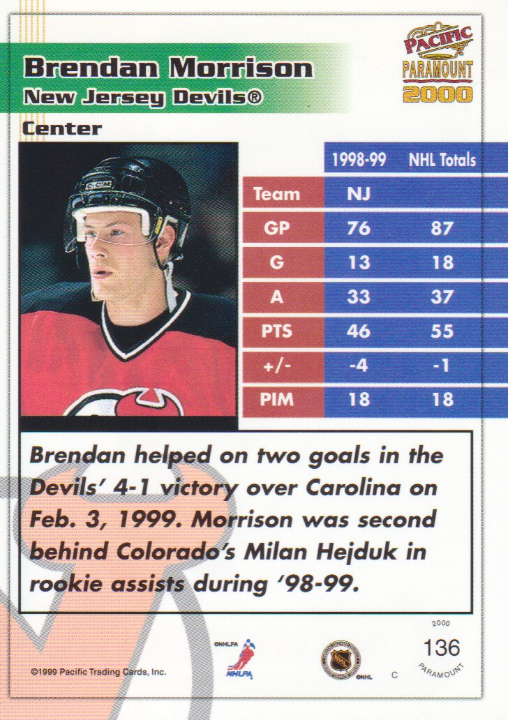 1999-00-Paramount-Red-Parallel-Hockey-Cards-Pick-From-List thumbnail 87