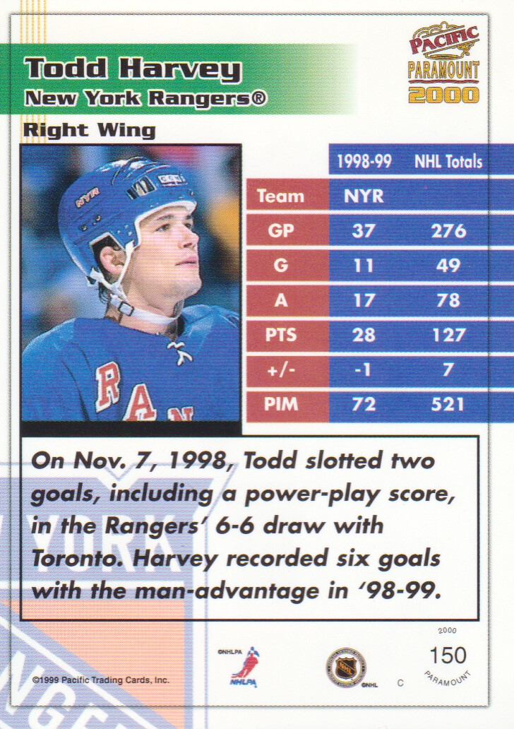 1999-00-Paramount-Red-Parallel-Hockey-Cards-Pick-From-List thumbnail 95