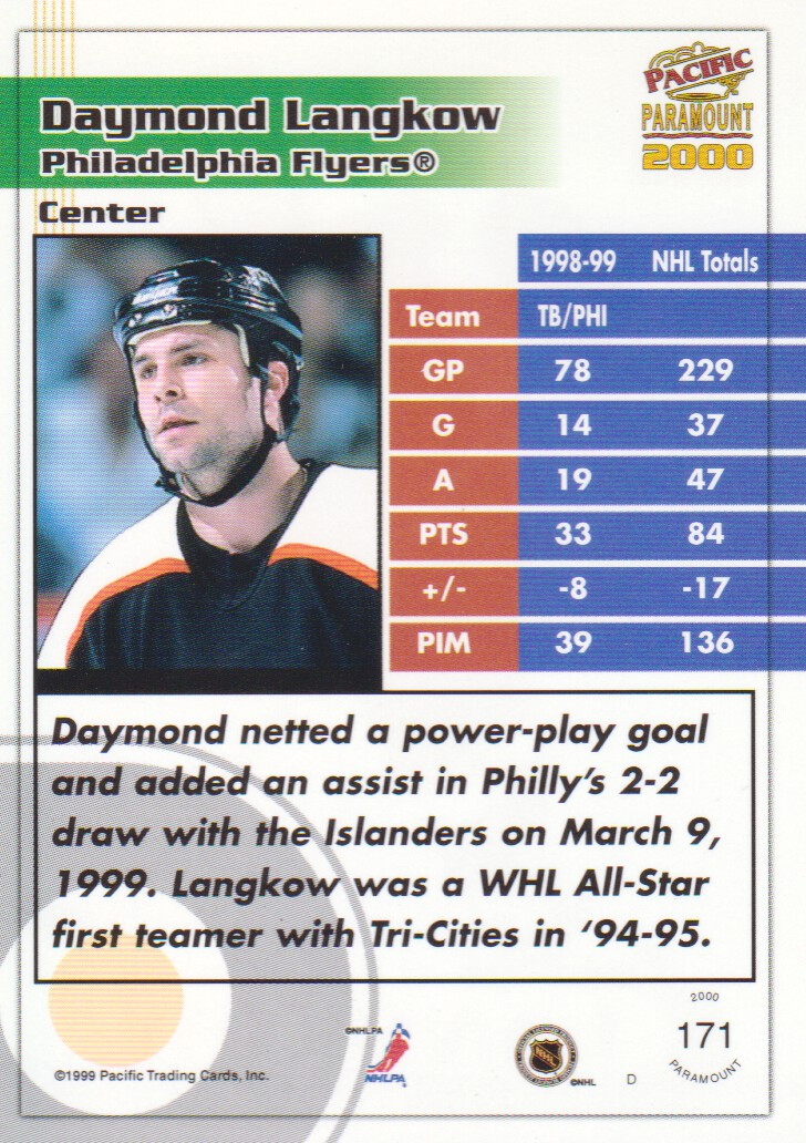 1999-00-Paramount-Red-Parallel-Hockey-Cards-Pick-From-List thumbnail 113