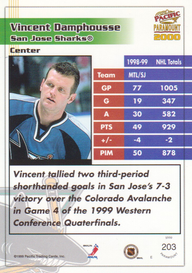 1999-00-Paramount-Red-Parallel-Hockey-Cards-Pick-From-List thumbnail 135