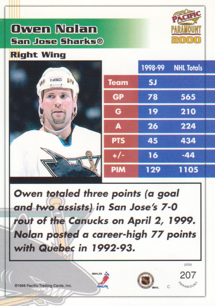 1999-00-Paramount-Red-Parallel-Hockey-Cards-Pick-From-List thumbnail 139