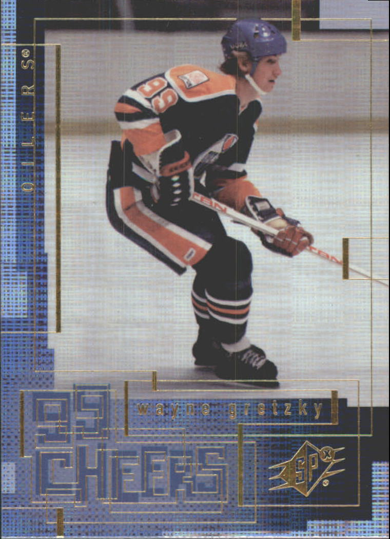 1999-00 SPx 99 Cheers #CH4 Wayne Gretzky