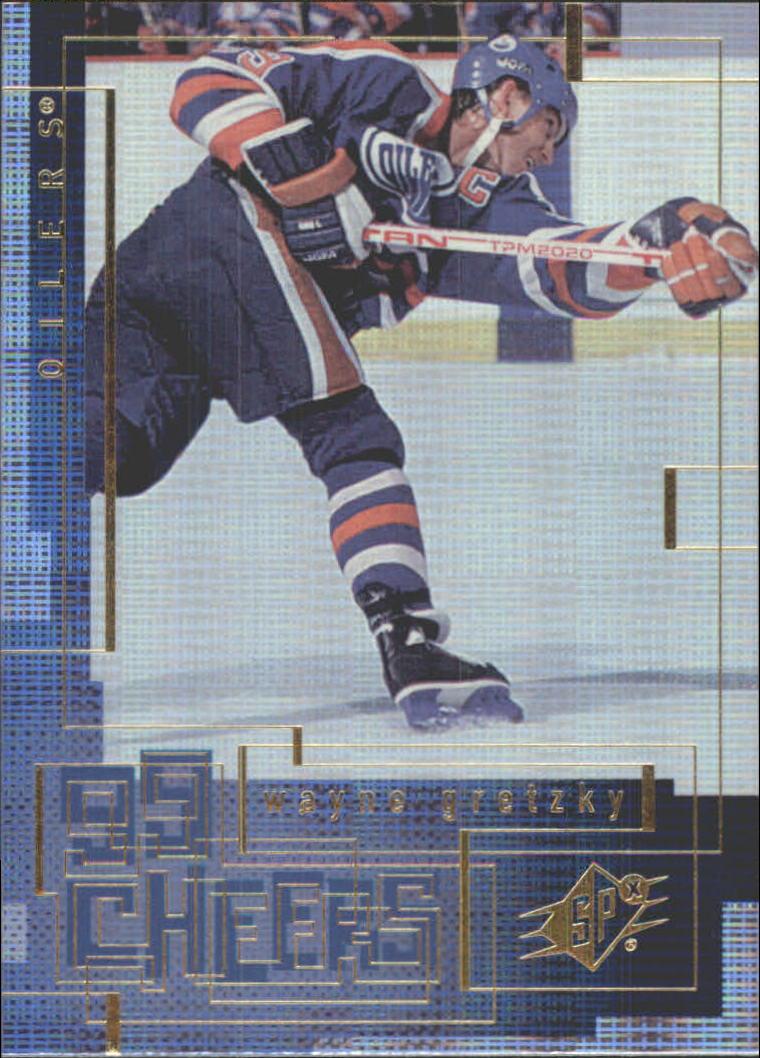 1999-00 SPx 99 Cheers #CH5 Wayne Gretzky