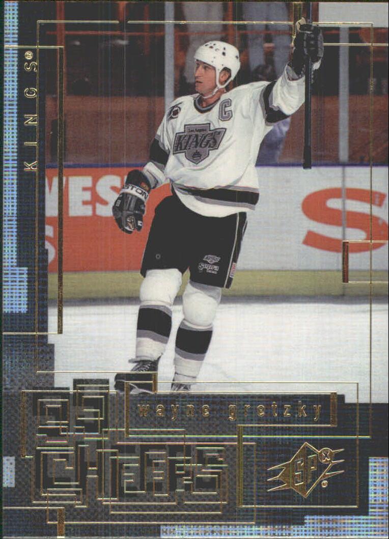 1999-00 SPx 99 Cheers #CH7 Wayne Gretzky