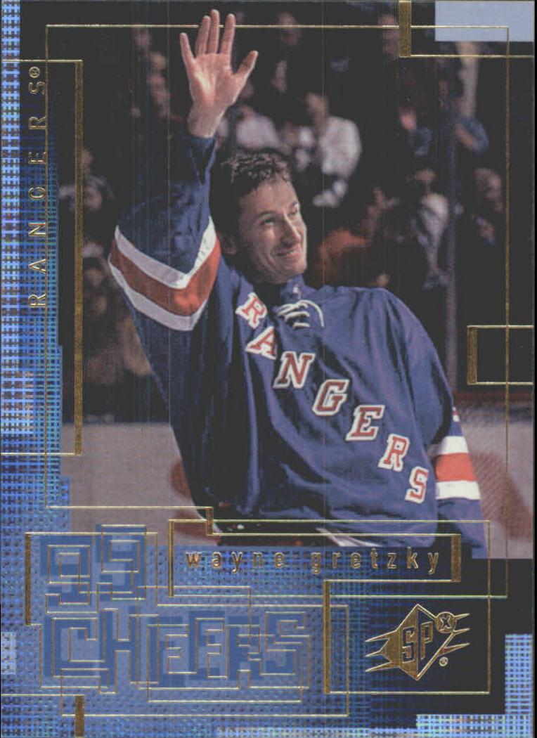 1999-00 SPx 99 Cheers #CH10 Wayne Gretzky
