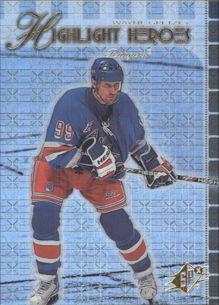 1999-00 SPx Highlight Heroes #HH1 Wayne Gretzky