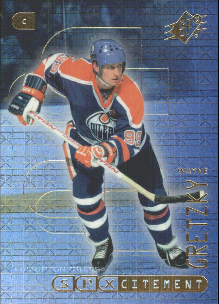 1999-00 SPx SPXcitement #X1 Wayne Gretzky