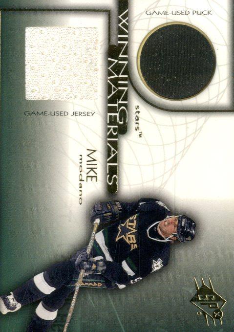 1999-00 SPx Winning Materials #WM1 Mike Modano