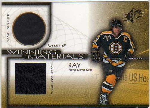 1999-00 SPx Winning Materials #WM8 Ray Bourque