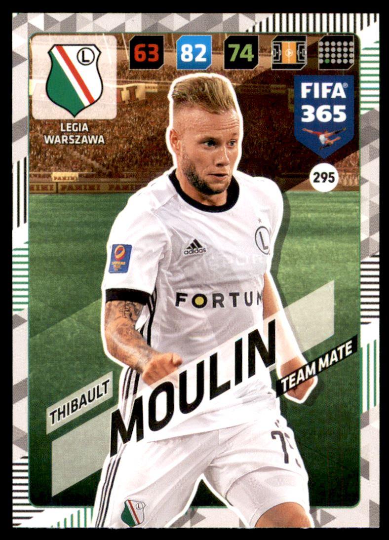 PANINI FIFA 365 ADRENALYN XL 2018-Legia Varsovie