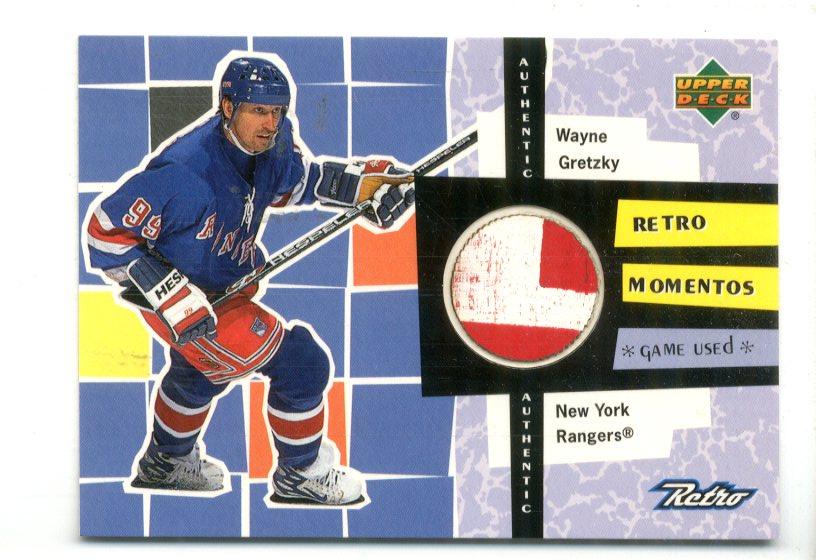 1999-00 Upper Deck Retro Memento #RM1 Wayne Gretzky