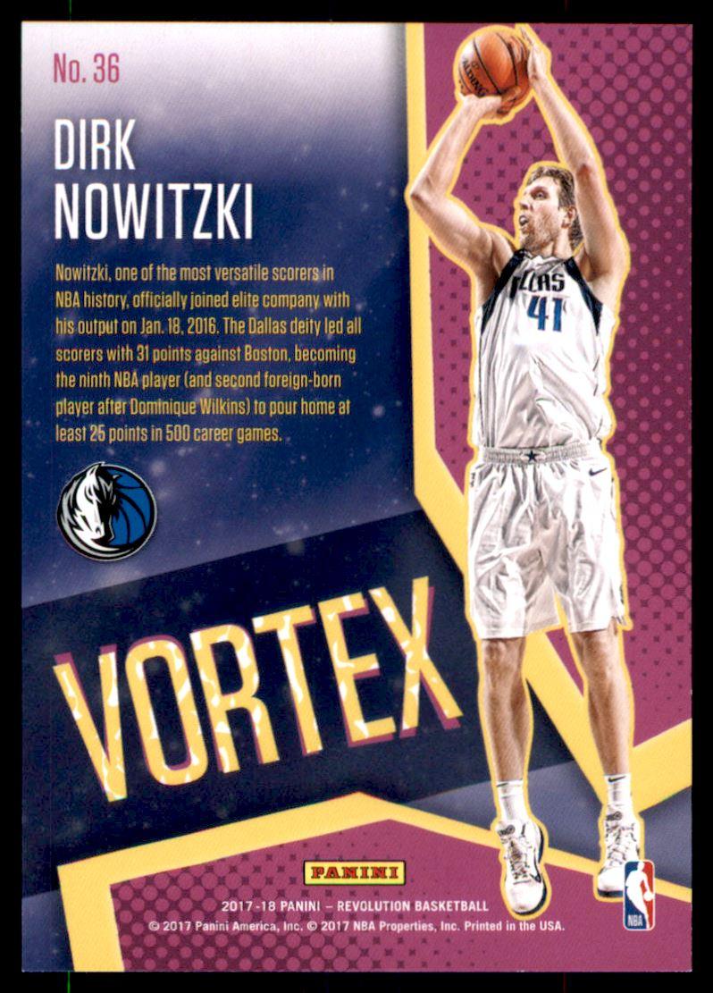 9b711418777 2017-18 Panini Revolution Vortex #36 Dirk Nowitzki | eBay