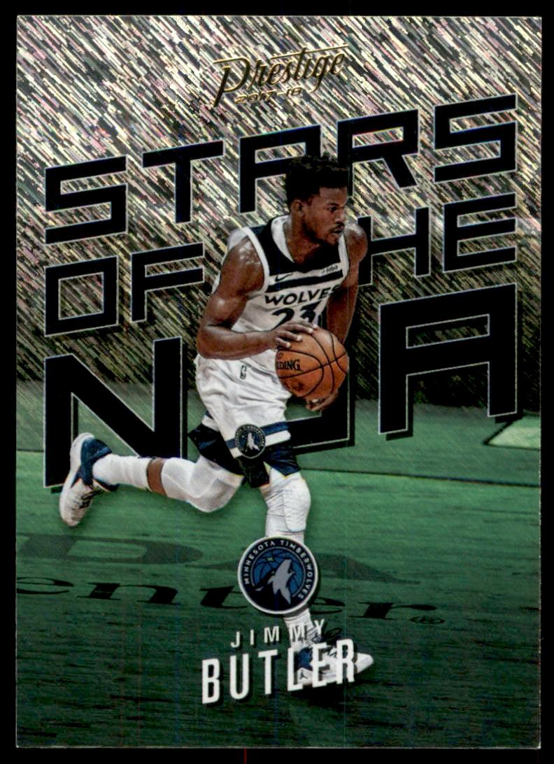 f320fcf5c22b 2017-18 Prestige Stars of the NBA Rain  8 Jimmy Butler