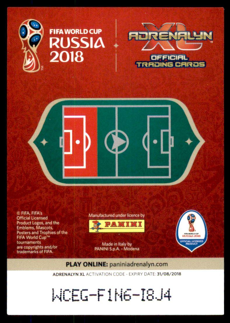 Verzamelingen 2018 PANINI STICKER FIFA WORLD CUP RUSSIA #262 RIZA DURMISI DENMARK *49100
