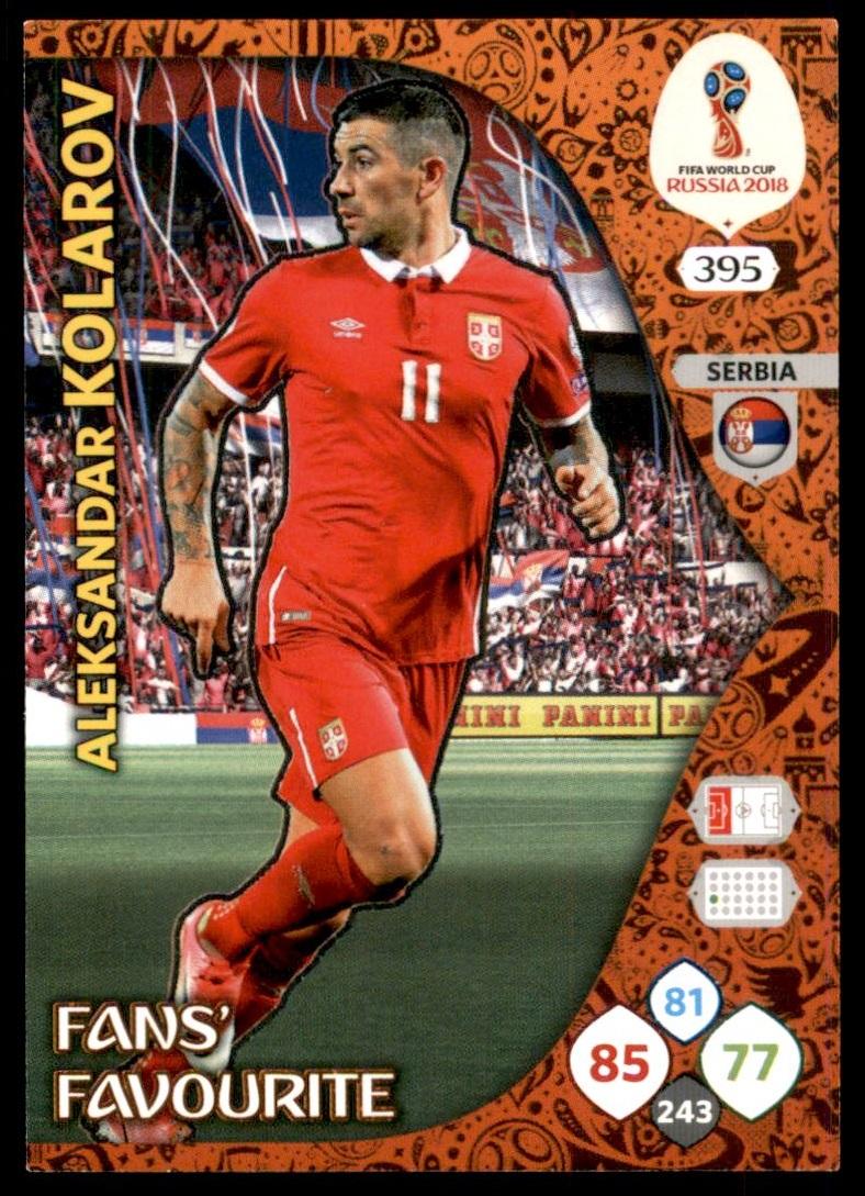 Panini FIFA World Cup Russia 2018 Adrenalyn XL serbia tarjetas para seleccionar